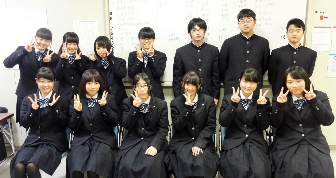 下関市立下関商業高等学校制服画像